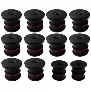 Silicone Body Mount Kit For 99-03 Ford Excursion 5.4L, 6.8L, 7.3L 12pc S&B