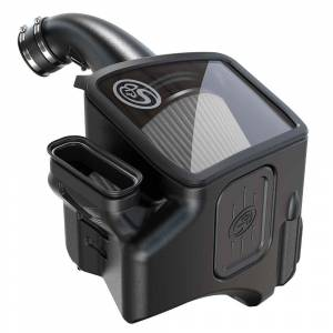 Cold Air Intake For 20-21 Chevrolet Silverado GMC Sierra V8-6.6L L5P Duramax Dry Extendable S&B